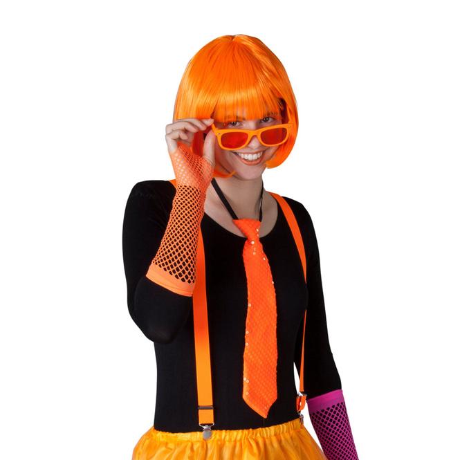 Hosenträger - für Erwachsene - orange