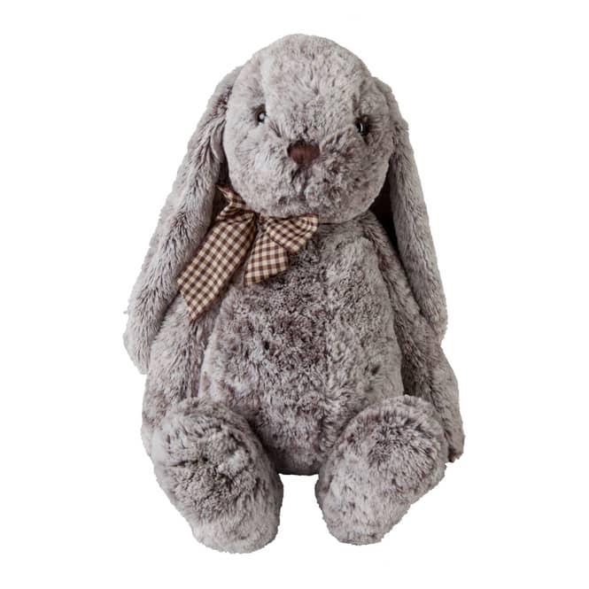 Plüsch-Hase - grau, ca. 46 cm