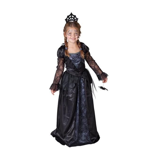 Kostüm - Spinnenkönigin - für Kinder und Jugendliche - 3-teilig