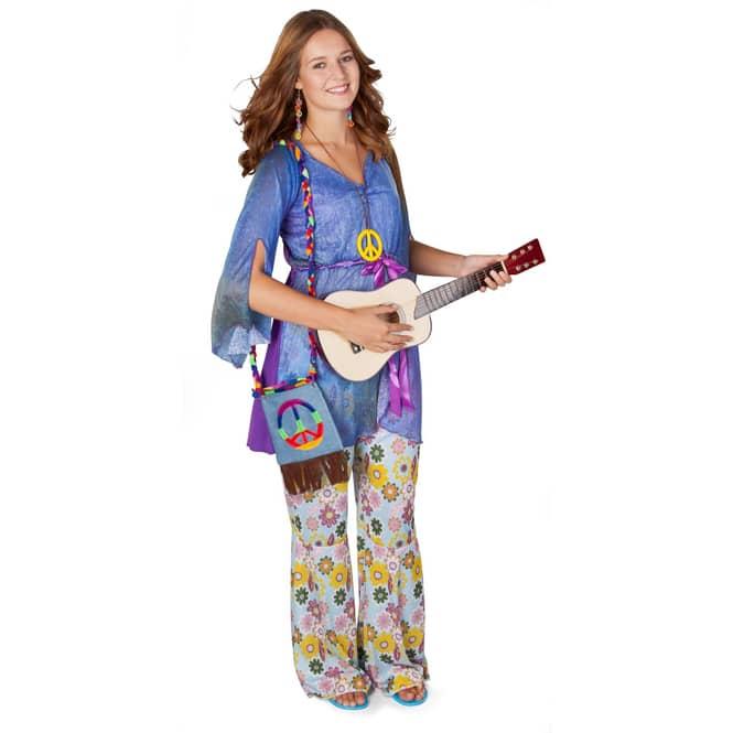 Hippie Umhängetasche in Jeans- Optik