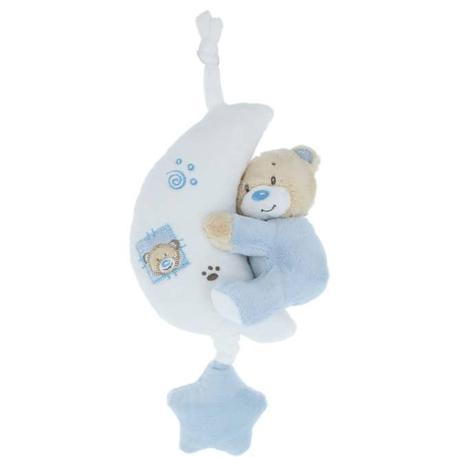 Besttoy - Spieluhr Bär - blau
