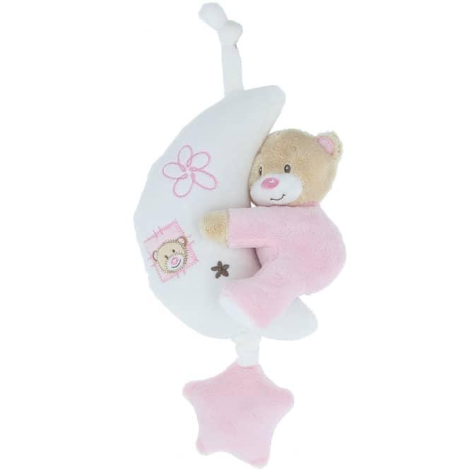 Besttoy - Spieluhr Bär - rosa