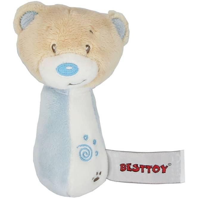 Besttoy - Softrassel - Bär - blau