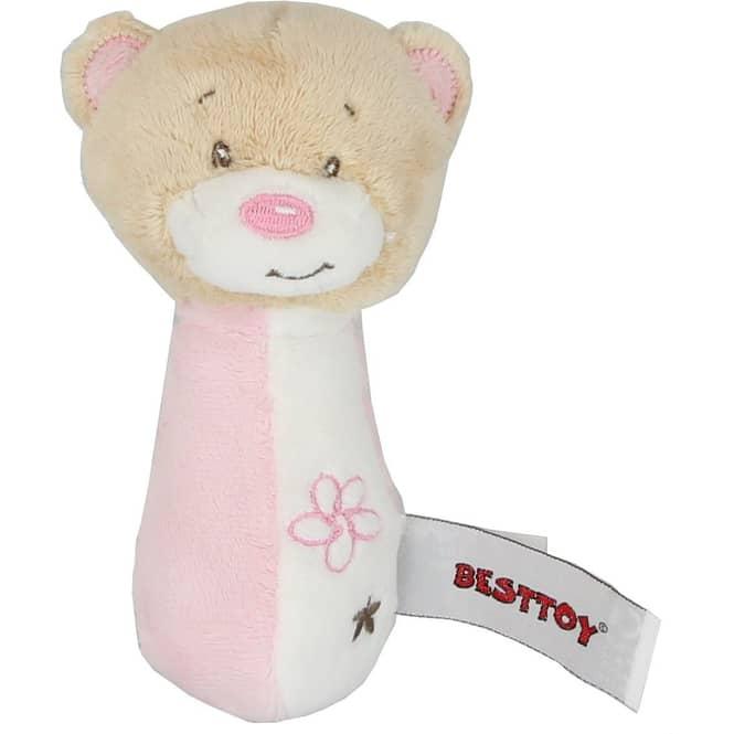 Besttoy - Softrassel - Bär - rosa