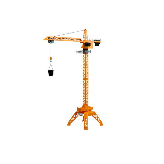 Großer drehbarer Baukran 120cm - mit Licht- und Soundfunktion