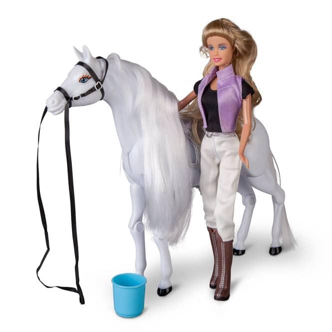 Besttoy - Modepuppe mit Pferd