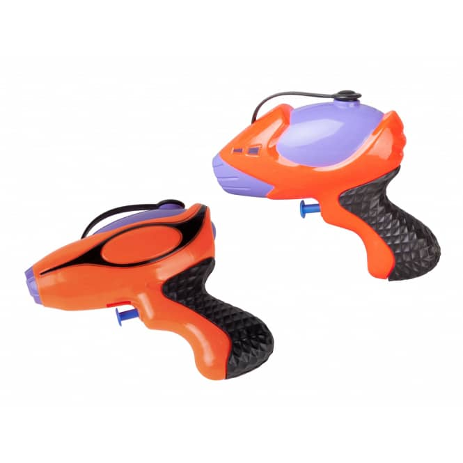 Wasserpistole - orange-lila - 1 Stück