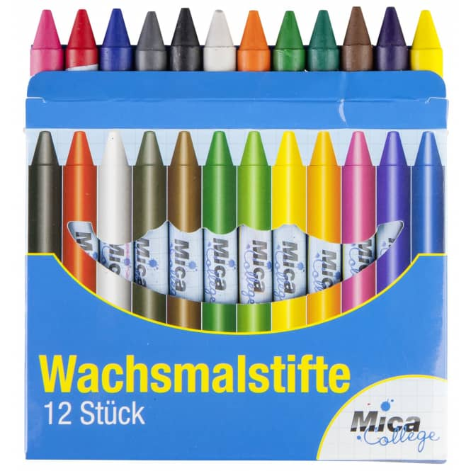Wachsmalstifte - 12er Set