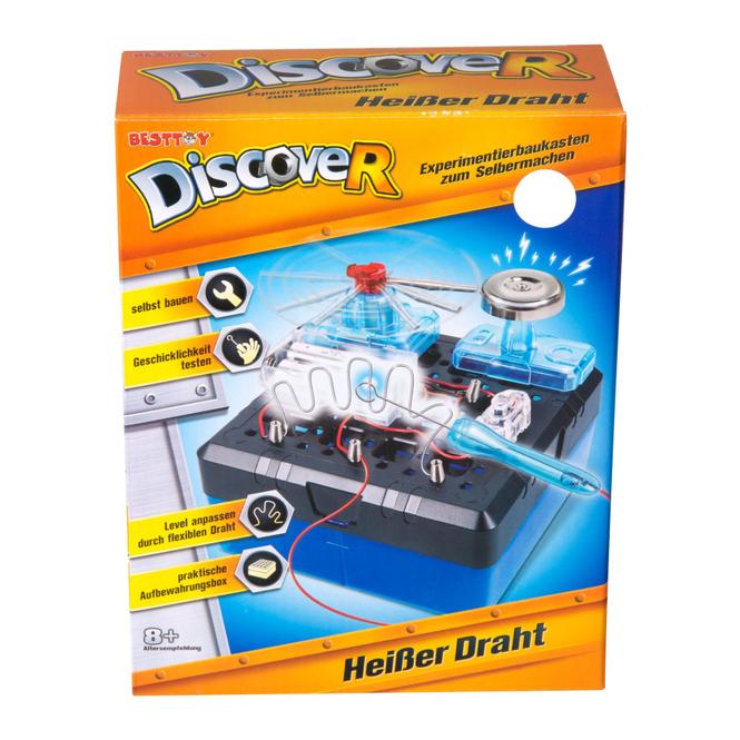 Besttoy Discover - Experimentierbaukasten - Heißer Draht