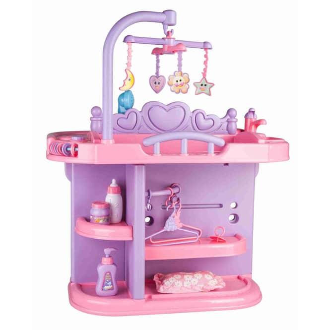Besttoy - Wickelcenter für Puppen - rosa
