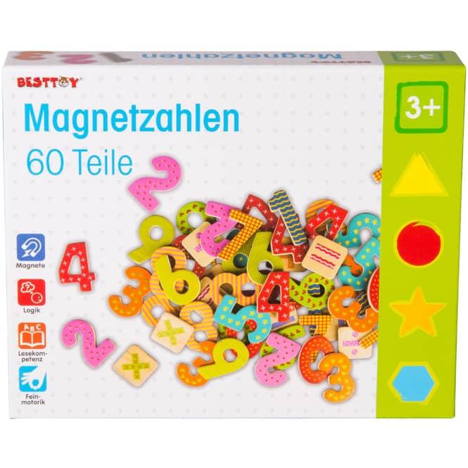 Magnetzahlen - 60-teilig