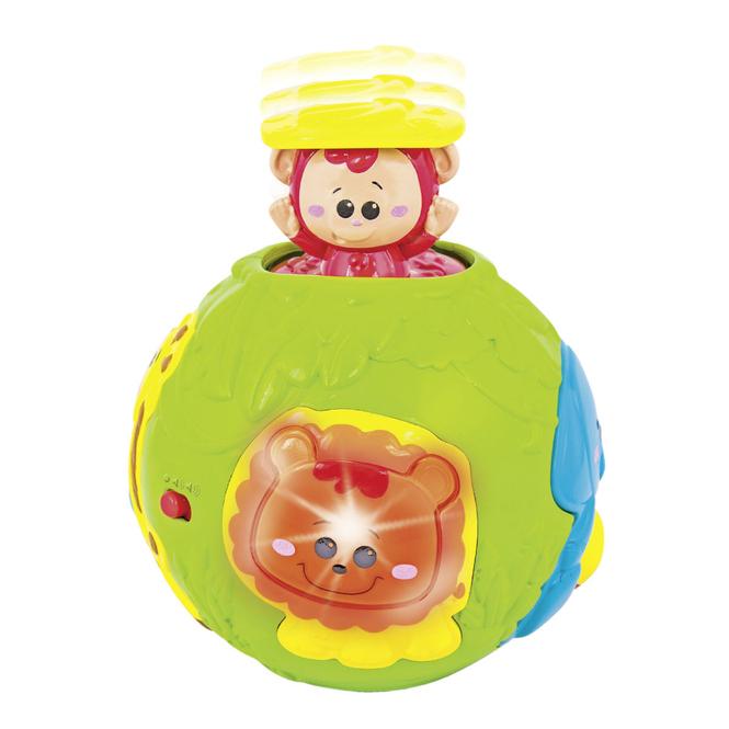 Besttoy - Pop Up Ball mit Äffchen