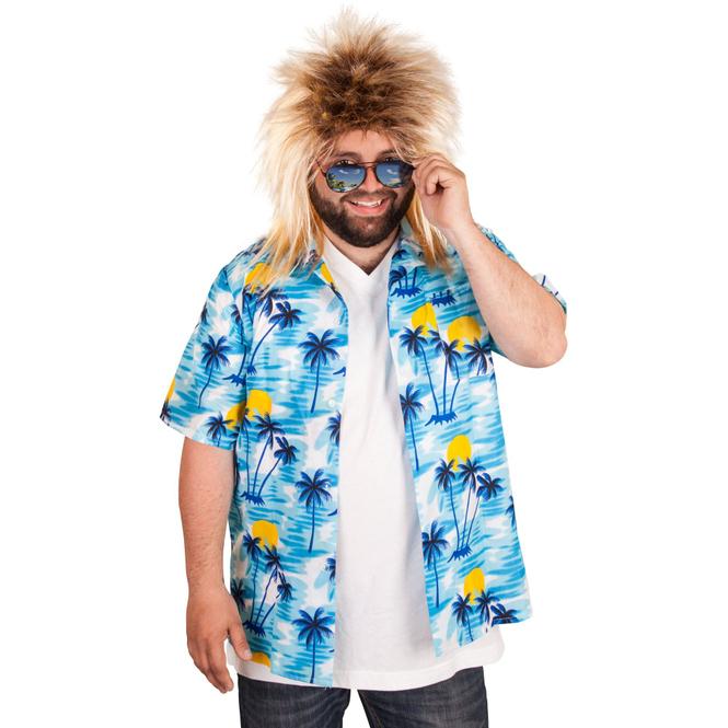 Kostüm - Hawaiihemd - für Erwachsene - verschiedene Größen