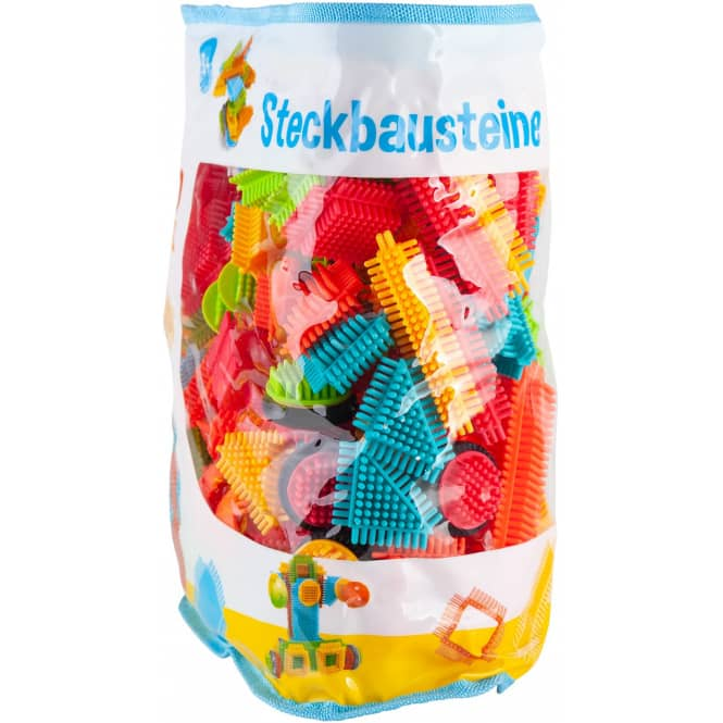 Besttoy - Bunte Steckbausteine - 150-teilig