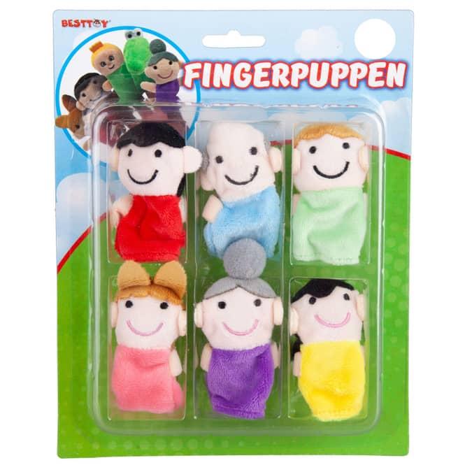 Besttoy - Fingerpuppen - Set Großmutter