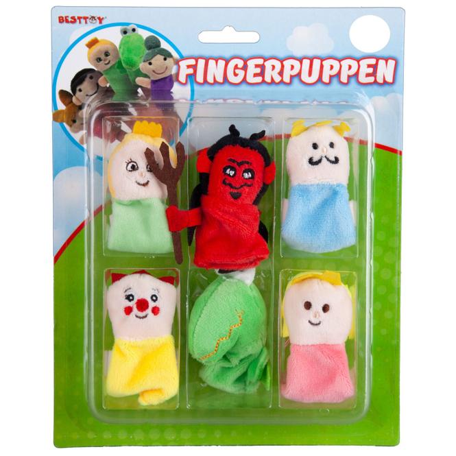 Besttoy - Fingerpuppen - Set Kasperle