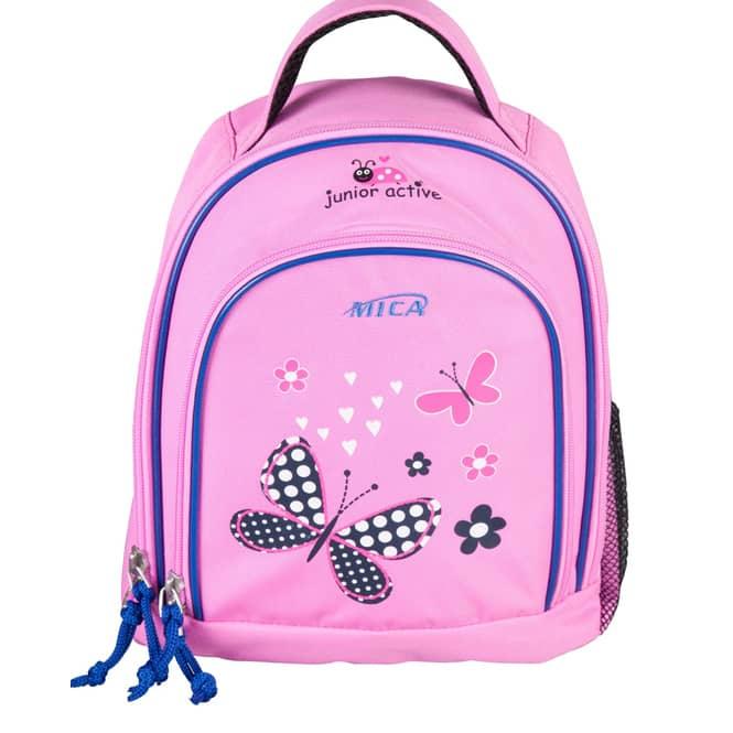 MICA - Schmetterling Kinderrucksack - pink