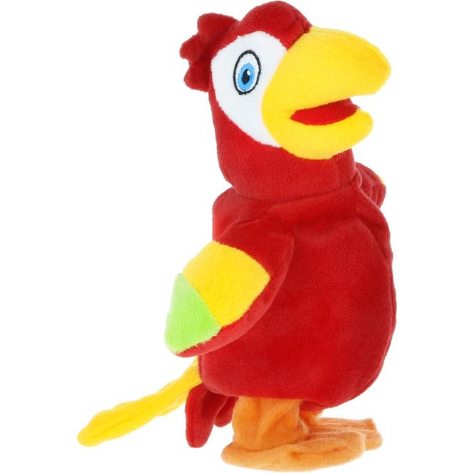 Besttoy - Plüsch Papagei mit Sprachwiedergabe