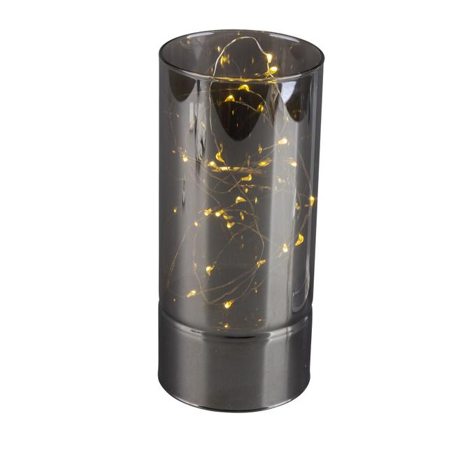 LED Säule - groß - schwarz