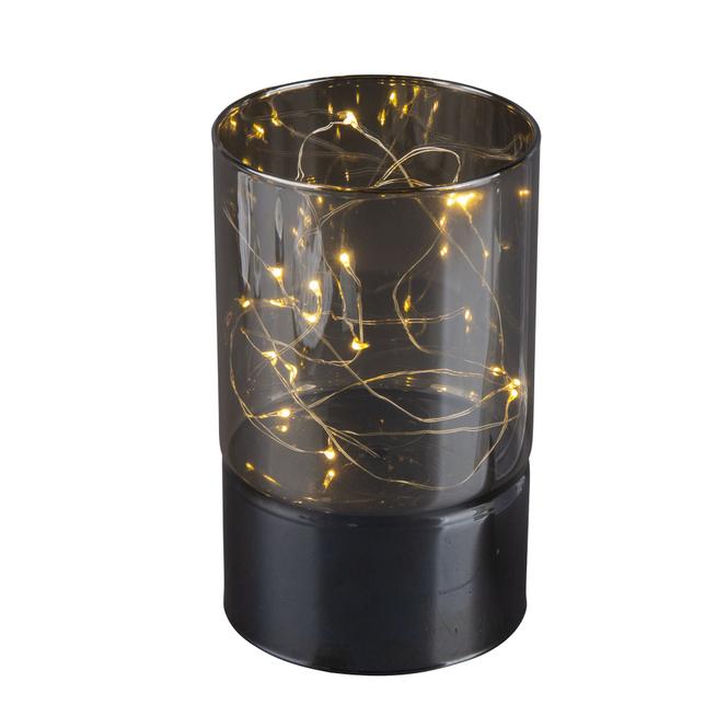 LED Säule - klein - schwarz
