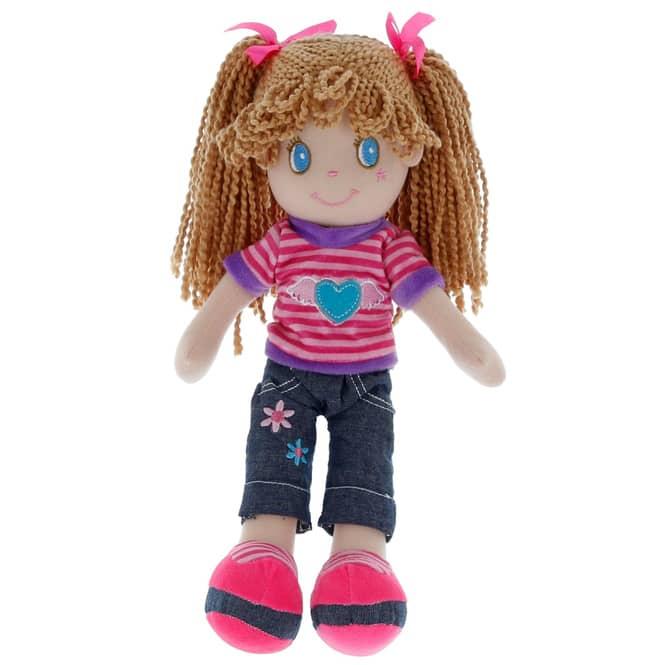Besttoy - Weichpuppe - Mädchen - ca. 35 cm
