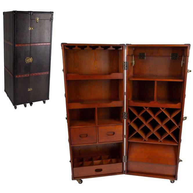 Weinschrank - aus Holz - Größe L