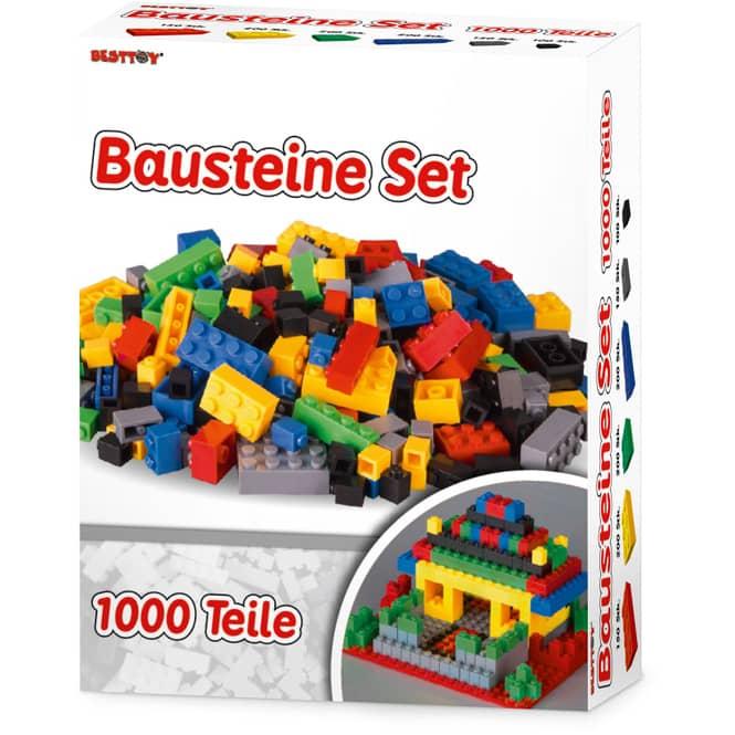 Besttoy - Mittelgroße Bausteine Box - 1000 Teile