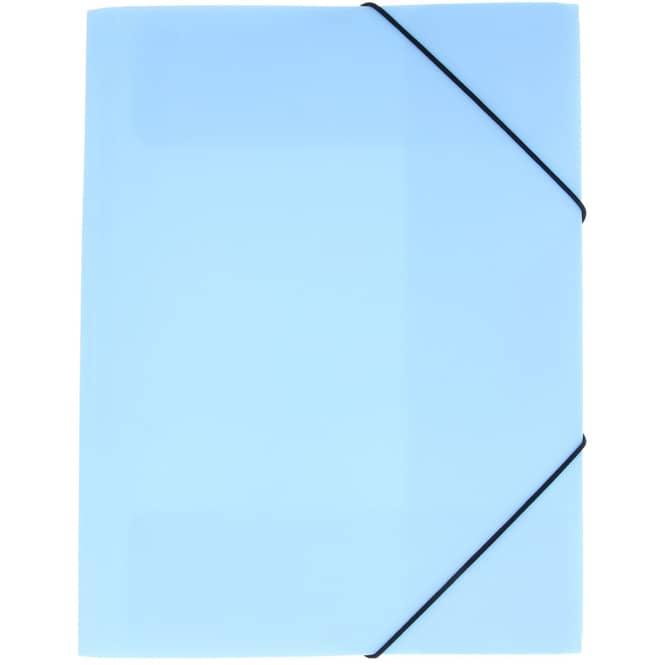 Eckspanner A4 - hellblau