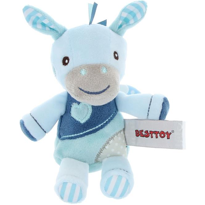 Besttoy - Plüsch Pferd - blau