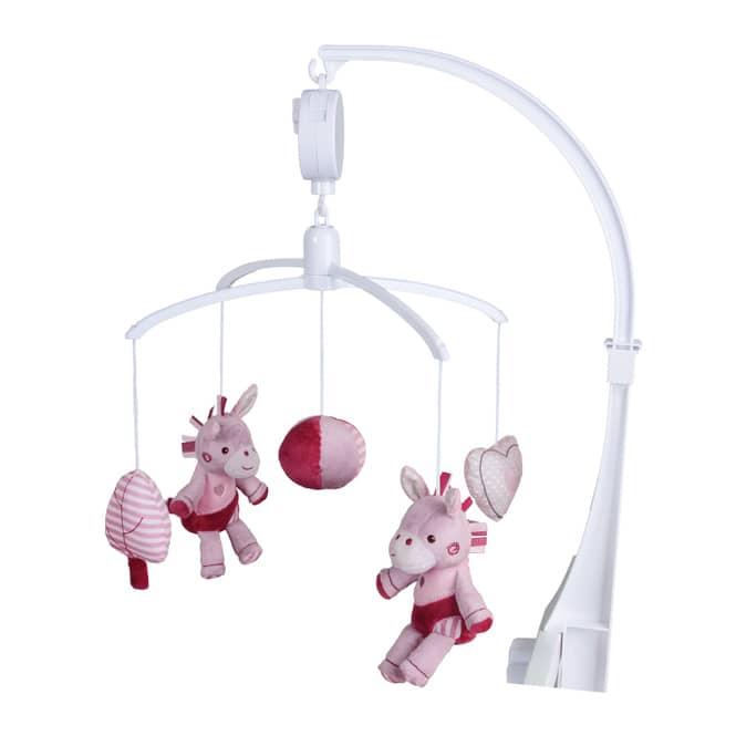 Besttoy - Mobile Pferd - rosa