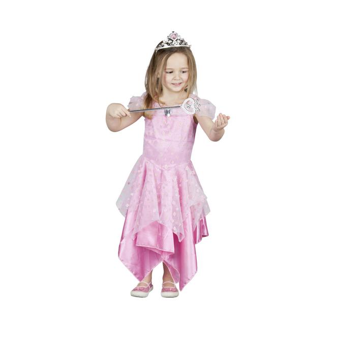 Kinder Kostüm Prinzessin Pink
