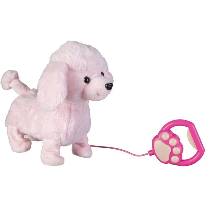 Besttoy - Plüschhund mit Funktion - rosa