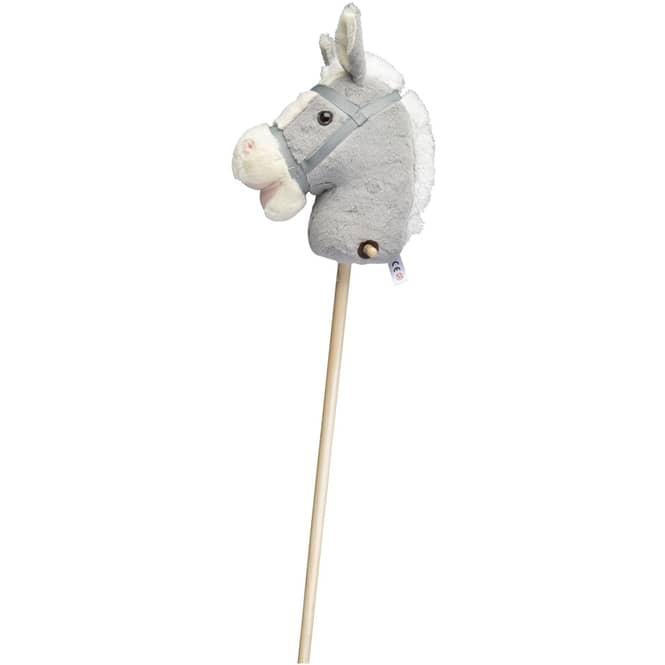 Besttoy - Steckenpferd - grau - ca. 100 cm