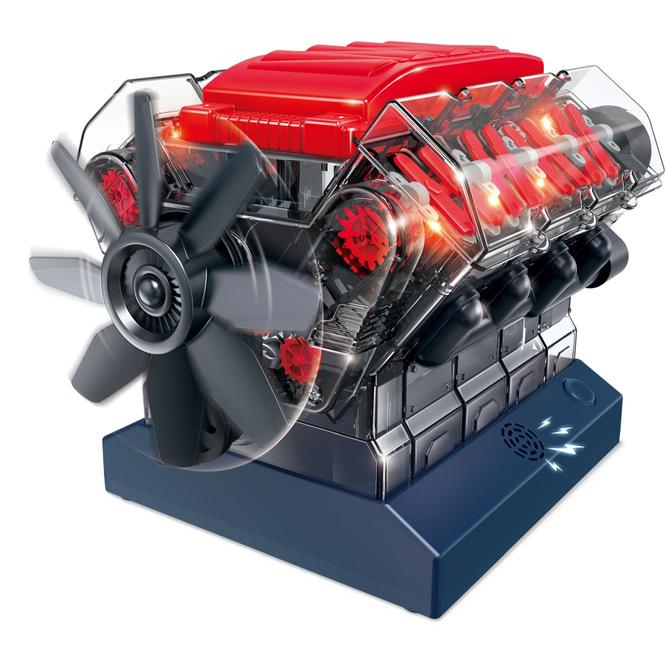 Besttoy Discover - Experimentierbaukasten - V8 Modell-Motor