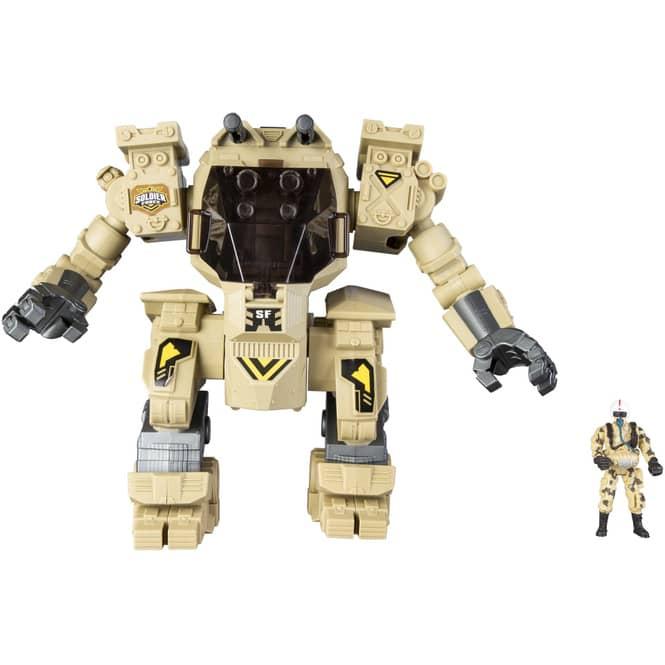 Besttoy - Militär Set - Soldier Force 10 - Roboter mit Figur