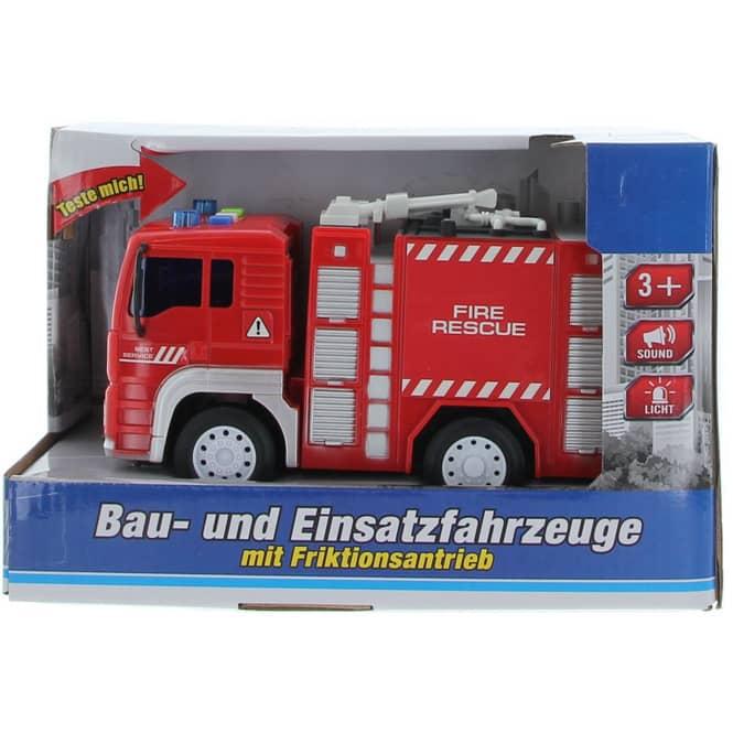 Besttoy - Bau- und Einsatzfahrzeug - Feuerwehrfahrzeug