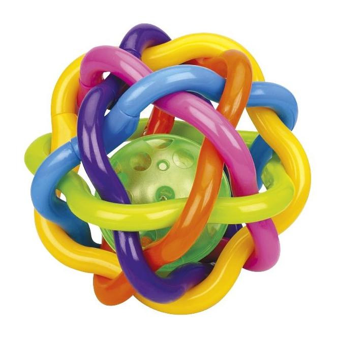 Besttoy - Regenbogen Greifling mit Ball