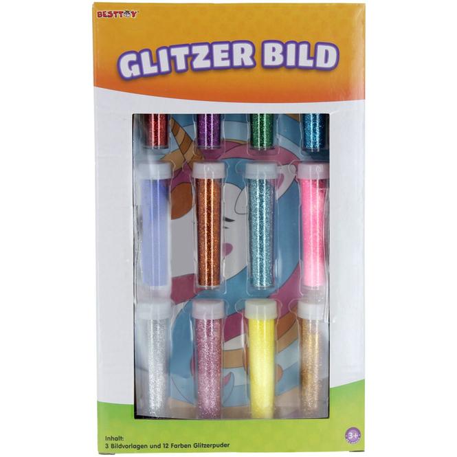 Besttoy - Glitzerbild-Set