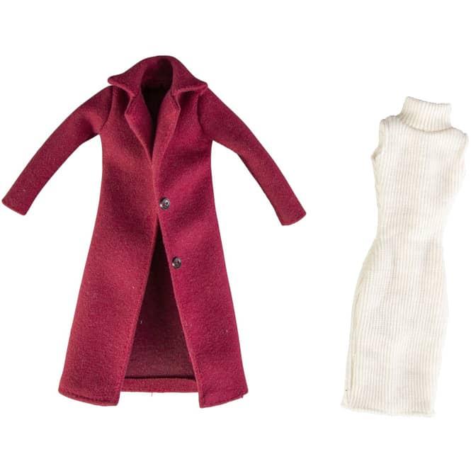 Besttoy - Kleid und Mantel für Modepuppen