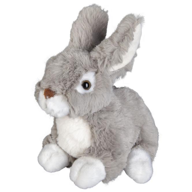 Besttoy - Plüsch-Hase sitzend - 17 cm - grau