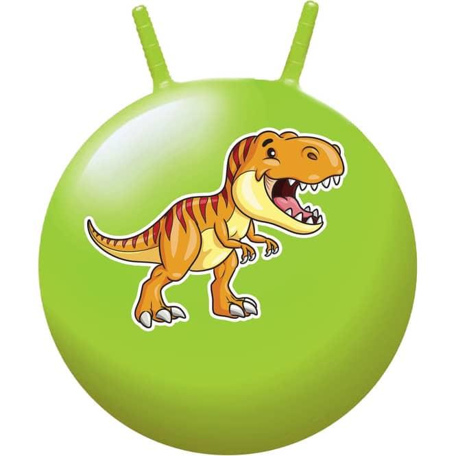 Hüpfball - Dinosaurier - grün