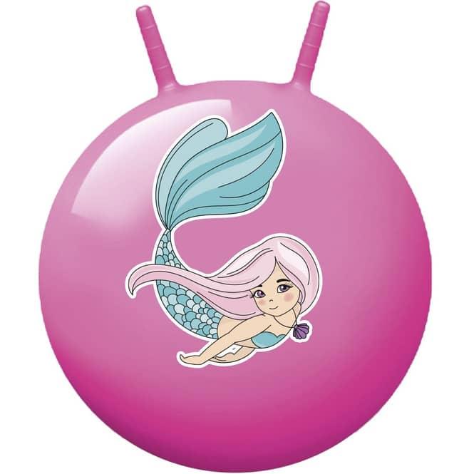 Hüpfball - Meerjungfrau - pink