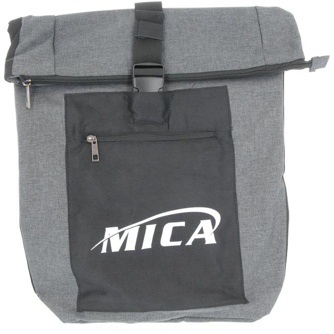 MICA - Rollrucksack - in grau/schwarz