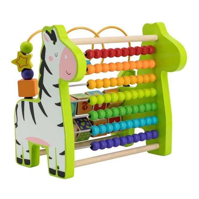 Besttoy - Zebra Zählrahmen - aus Holz
