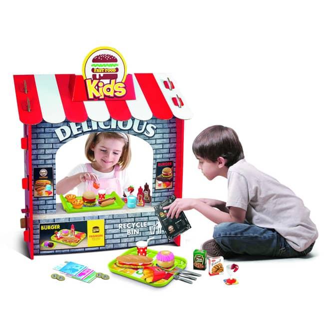 Besttoy - Verkaufstheke Fast Food