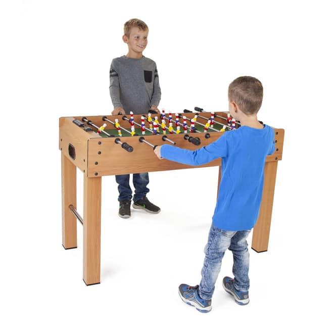 Tischfussball Spiel groß, Tischkicker 121x61x79cm
