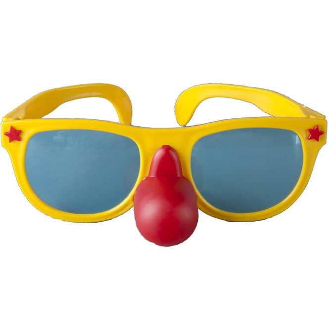 Brille - Clown, für Erwachsene