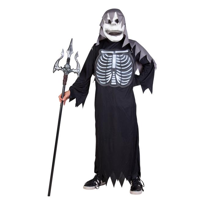 Skelett-Kinderkostüm mit Maske