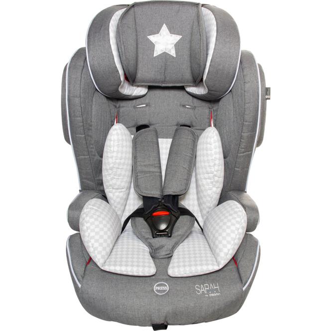 Osann - Auto-Kindersitz - Flux Isofix - Sarah Harrison - Star - Gruppe 1/2/3