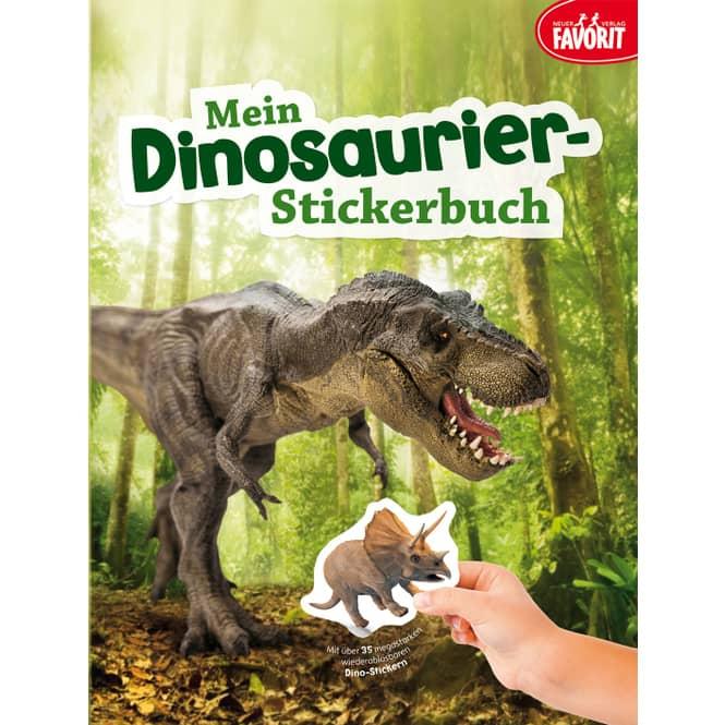 Mein Dinosaurier-Stickerbuch - Edition XXL